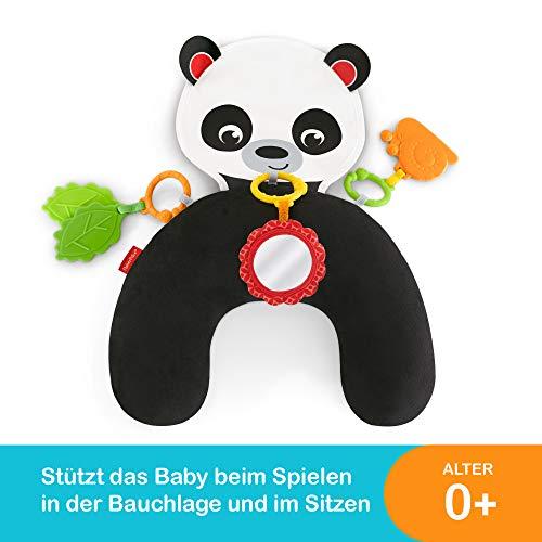 Fisher-Price FXB99 - Panda Spielkissen zum Spielen in der Bauchlage, ab Geburt -