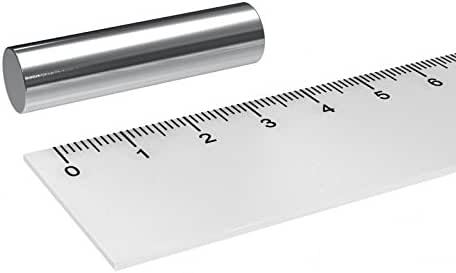 10x Neodym Magnete Stabmagnet 10x40mm Mini Magnet Zylinder Rund 5Kg Stark 40mm
