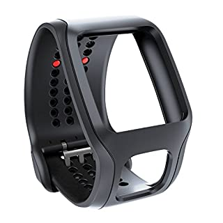 TomTom Bracelet confort pour Runner Cardio et Multi-Sport Cardio Noir (9URA.001.02) (B00JGQS05G) | Amazon price tracker / tracking, Amazon price history charts, Amazon price watches, Amazon price drop alerts
