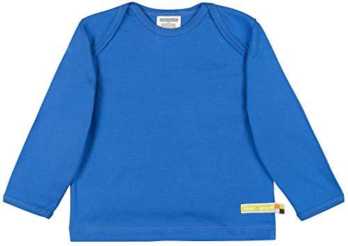 loud + proud Unisex Baby Shirt Uni Aus Bio Baumwolle, GOTS Zertifiziert Sweatshirt, Blau (Cobalt Cob), 92 (Herstellergröße: 86/92)