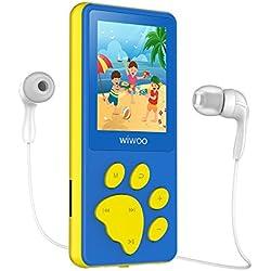 """Reproductor Mp3, Mp4 y radio, pantalla LCD 1,8"""", juegos (Azul y Rosa)"""