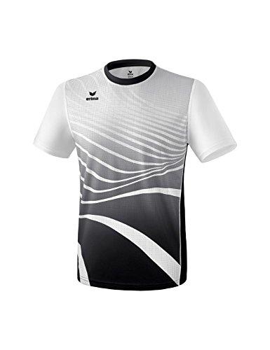 Erima Herren T-Shirt, Schwarz/Weiß, XXXL