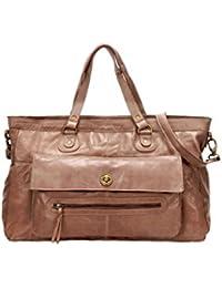 Sac cabas Pieces Nougat Travel Bag TOTALLY ROYAL Cuir 17055349 NOUGAT