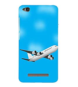 PrintVisa Designer Back Case Cover for Xiaomi Redmi 4a (Animated Plane )