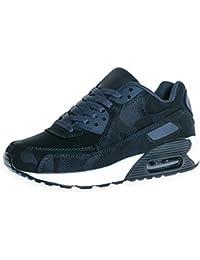online store eac1d d1077 Trendige Damen Laufschuhe Schnür Sneaker Sport Fitness Turnschuhe