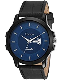 Carson Analogue Blue Dial Men's Watch - Cr7115