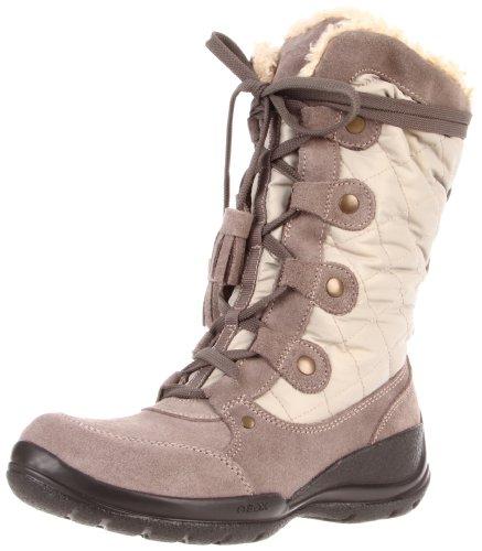 Geox - Stivali da neve WAOSTAWP16 Donna, Beige (Taupe), 38 (5 UK)