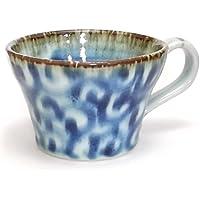 Porcellana polpo Hitoshiyamakama dipinte a mano blu arabesque Supumagu (Giappone import / Il pacchetto e il manuale sono scritte in giapponese)