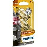 Philips 12066B2 Vision - Bombilla W21/5W para luces de freno (2 unidades)