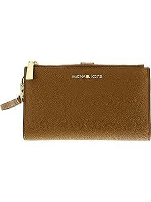 65a8dab1f917 MICHAEL Michael Kors Adele Double-Zip iPhone 7 Plus Wristlet ...