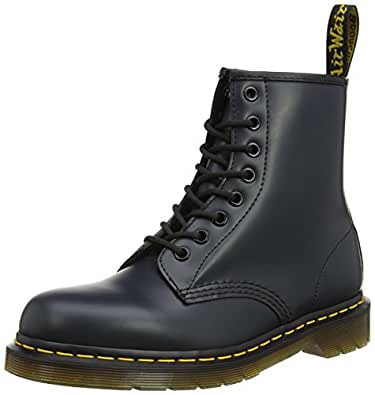 Dr. Martens 1460 Smooth, Stivaletti Unisex Adulto, Blu (1460 Smooth 59 Last Navy), 36