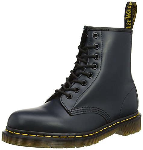 Dr. Martens 1460 Smooth, Stivali Unisex - Adulto, Blu (1460 Smooth 59 Last Navy), 40 EU
