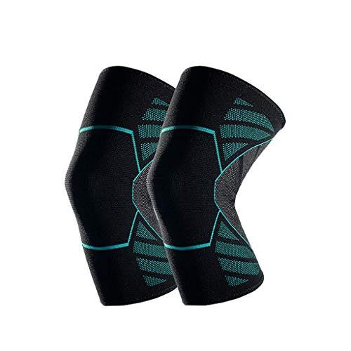 Kompressions Kniebandage - Leichtathletikunterstützung zum Joggen,Laufen,Wandern und Sport,zur Linderung von Gelenkschmerzen,Arthritis und zur Wiederherstellung von Verletzungen mit verstellbarem Gurt