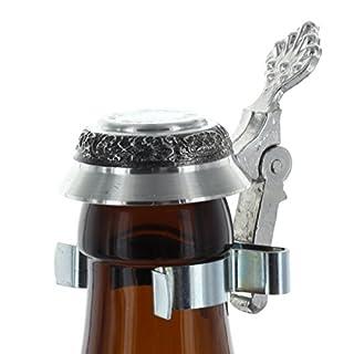 Area17 Zinndeckel für Bierflaschen mit Wunschgravur
