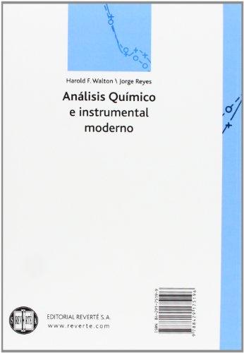 Análisis Químico E Instrumental Moderno