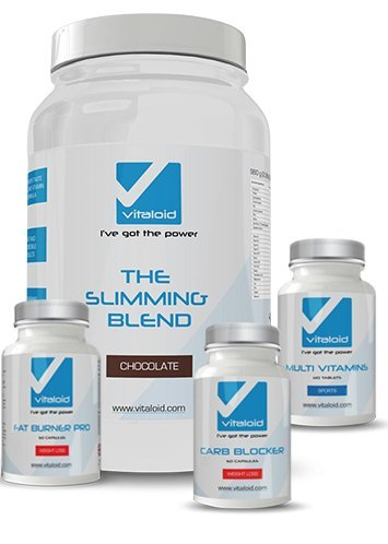 Pack Adelgazante Vitaloid - Suplemento Dietético - Pack adelgazante que combina los cuatro mejores productos para adelgazar y perder peso
