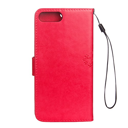 Cover iPhone 7 Plus 8 Plus, Sportfun Custodia Portafoglio In Pelle Con Wallet Case Cover Per iPhone 7 Plus 8 Plus con Porta Carte e Funzione Stand (05) 08