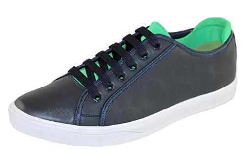 Hugo Boss Schuhe Shoe Sneaker Attitude_Tenn_Lux 10207038 Dunkelblau EUR 41 (Hugo Boss-blaue Schuh)