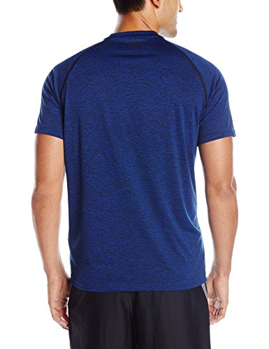 Under Armour Men's Fitness Und Tank Ua Tech Ss Tee Short-Sleeve T-Shirt Blau (Royal Blue)
