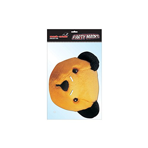 Sooty Character Face Card Mask, Mask-arade, Impersonation/Fancy Dress
