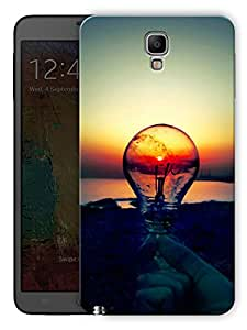 """Humor Gang Light Bulb Scenery Printed Designer Mobile Back Cover For """"Samsung Galaxy Note 3"""" (3D, Matte Finish, Premium Quality, Protective Snap On Slim Hard Phone Case, Multi Color)"""