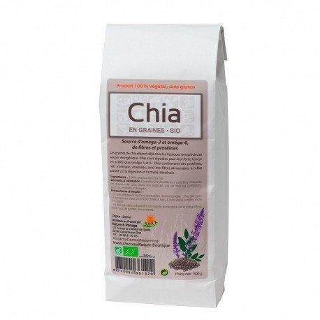 Graines de CHIA BIO 500 grs
