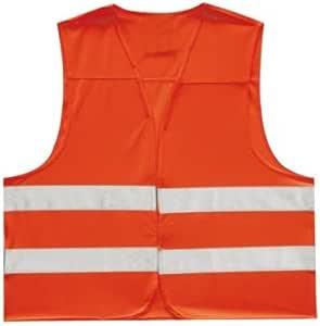 Petex 43919900 Kinder Sicherheitsweste Orange Auto