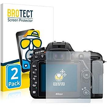 Vetro Prottetivo AirGlass BROTECT Pellicola Vetro Compatibile con Nikon D7500 Flessibile 9H