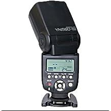 YONGNUO YN-560lll Wrieless disparador y flash Speedlite de destello para CanonEOS5D, 5D25D Mark II, 1Ds Mark [IV / III / II / I], 1D Mark [III / II N / II / I], 7D, 60D, 50D, 40D, 30D , 600D, 550D, 500D, 450D, 400D, 350D, 300D, 1100D, 1000D 650D 5D2 5D Mark III 6D NikonD3s, D3x, D3, D700, D300s, D300, D200, D100, D90, D80, D70s, D7000, D5100, D5000, D3100, D3000, D60, D40 D800 D600 PentaxK-7, Kx, Km, K20D, K10D, K200D, K100D, OlympusE5, E3, E30, E300, E620, E520, E420, E450, E-P2, E-PL2 , E-PL1 Panasonic