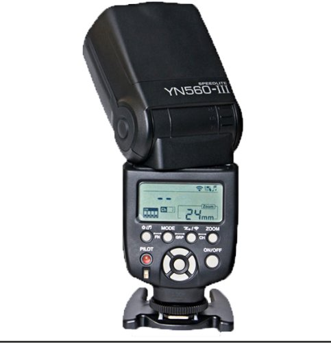 Yongnuo OS02037 Yongnuo OS02037 YN-560 Mark III Systemblitz mit integriertem Funkauslöser Systemblitz mit integriertem Funkauslöser