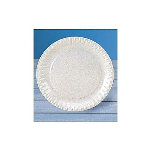 Assiette carton ø 23 cm blanc x100