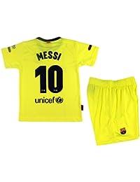 0cc4400ad5 Kit Segunda Equipación Infantil Leo Messi del FC Barcelona Producto Oficial  Licenciado Temporada 2018-19