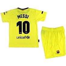 6d43015afc032 Kit Segunda Equipación Infantil Leo Messi del FC Barcelona Producto Oficial  Licenciado Temporada 2018-19