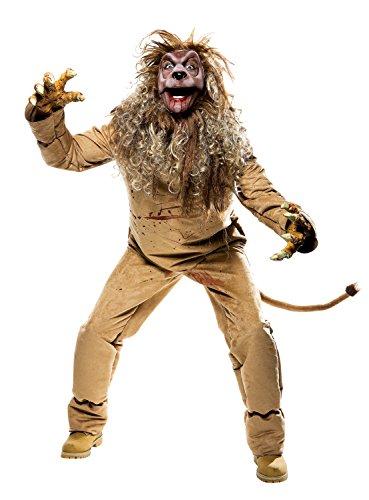 PMG Imposantes Löwe Kostüm für Erwachsene 5teilig - Gr. L