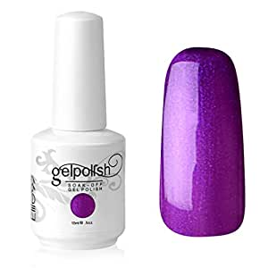 Elite99 Vernis A Ongles Gel UV Soak Off Base Top Nail Art Semi-Permanent Manucure 15ml 1338