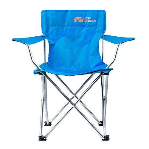 MUTANG Camping en Plein air Camping accoudoir Chaise Chaise Pliante Chaise Portable Chaise de Plage Chaise de pêche Bleu