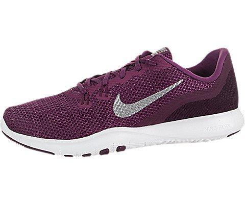 Nike Damen Flex Trainer 7 Running Trainers 898479 Sneakers Schuhe (UK 5.5 US 8 EU 39, Tea Berry Silver 601)