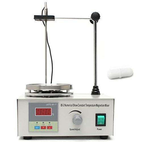 Heaviesk 85-2 Kochplattenmischer-Magnetrührer mit Heizplatte Digitalanzeige Schullabor US UK UK AU Stecker (Magnetrührer-heizplatte)