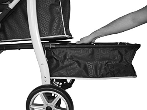 Innopet, Free Rain And Wind Cover, Monaco Stroller, Non Zipp Mesh Front Window Stroller 6