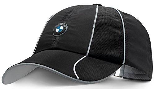 bmw-genuine-athletics-unisex-black-sports-unisex-baseball-cap-hat-adjustable