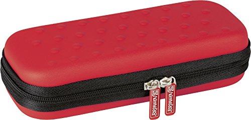 Brunnen 104910023 Combi-Etui Colour Code (21 x 8,5 x 4,5 cm) rot / red Code Red Zipper