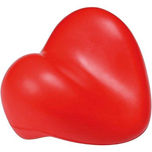 Coussin de baignoire Repose-tête Coeur Rouge Mousse La chaise longue 30-S2-011