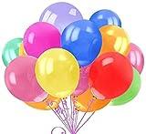 ArtBalloon 100 Piezas Globos de Fiesta de Color Surtidos para la Fiesta de cumpleaños de la Boda - Globos de látex de 30 cm