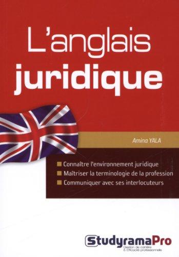 L'anglais juridique
