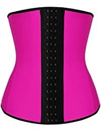 Camellias Mujer Waist Cincher Corsé Fajas Reductoras de Cinturón Firme de Formación Underbust Bustier para