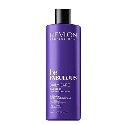 Revlon Be Fabulous Daily Care Fine Hair Cream Shampoo Champú - 1000 ml