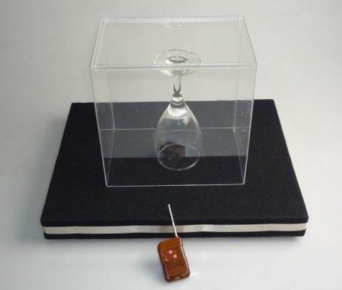 Preisvergleich Produktbild Gowe Glas Breaking Schacht Pro–Fernbedienung, Magic Tricks, Mentalismus, Stage, Illusion, Gimmick