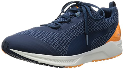 Puma Ignite XT Core - Zapatillas de Running de Material Sintético para Hombre Azul Blau (Blue Heaven-Blue Wing Teal-Orange Pop-White 03) 44