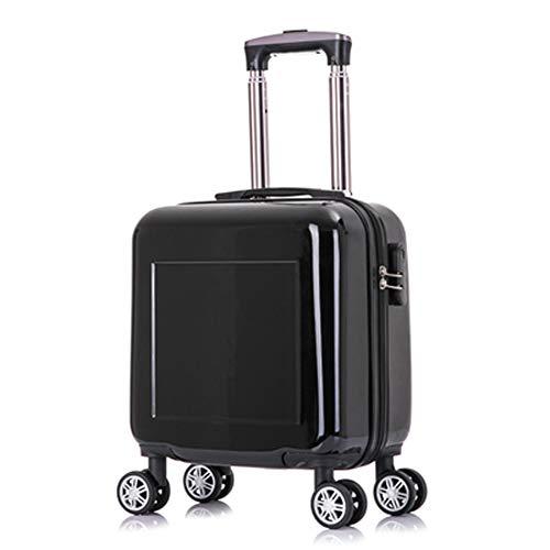 Preisvergleich Produktbild HWYP Minikoffer der Kinder,  14-Zoll-Reisekastenkennworteinstiegskosmetikfallgewohnheit Kleiner Laufkatzenkoffer-3