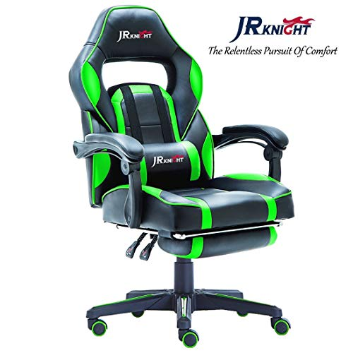 Admirable Jr Knight Lc 04Bkgn Ergonomic Gaming Pu Offer Of The Day Squirreltailoven Fun Painted Chair Ideas Images Squirreltailovenorg
